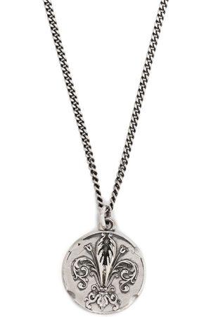 EMANUELE BICOCCHI Lily coin pendant necklace