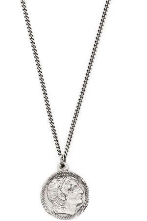 EMANUELE BICOCCHI Náhrdelníky - Ceasar coin pendant necklace