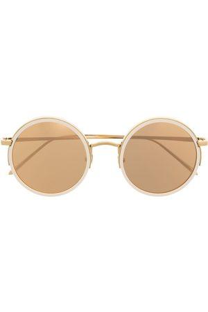 Linda Farrow Sluneční brýle - Round frame sunglasses