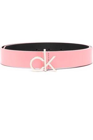 Calvin Klein Ženy Pásky - CK logo buckle 30mm leather belt
