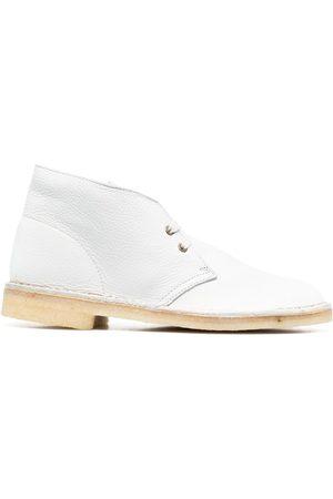 Clarks Muži Šněrovací - Leather Desert boots