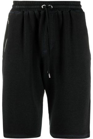 Roberto Collina Drawstring-waist track shorts