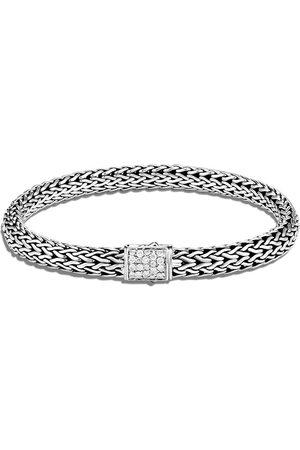John Hardy Ženy Náramky - Silver small Classic Chain reversible 6.5mm bracelet