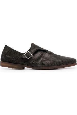 Premiata Muži Do práce - Perforated folding-heel monk shoes