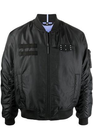 McQ Muži Bombery - Logo patch bomber jacket
