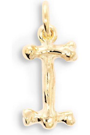 The Great Frog 18kt gold Alphabones 'I' pendant