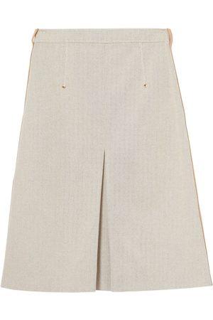 Burberry Ženy Áčkové - High-waisted A-line skirt