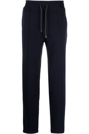 Brunello Cucinelli Muži Tepláky - Tapered track trousers