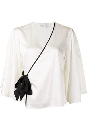 FLEUR DU MAL Ženy Pyžama - Wrap silk pajamas