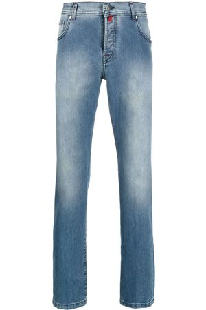 Kiton Mid-rise straight jeans