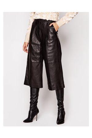 Michael Kors Kožené kalhoty