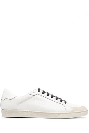 Saint Laurent Muži Tenisky - Logo-stamp low-top sneakers