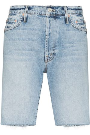 Mother Ženy Bermudy - The Trickster Bermuda Denim Shorts