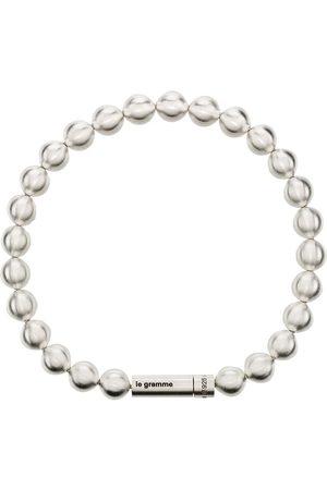 Le Gramme Muži Náramky - Le 47g brushed bead bracelet