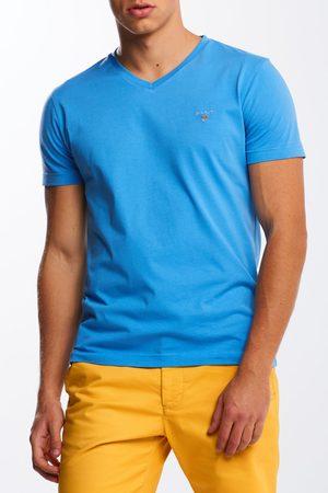 GANT Tričko Original Slim V-Neck T-Shirt