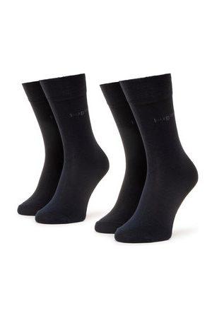 Bugatti Sada 2 párů pánských vysokých ponožek