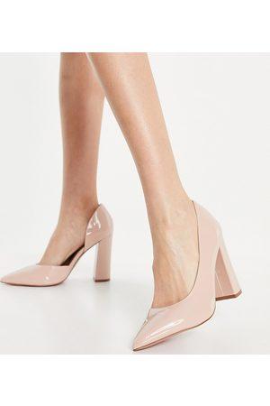 ASOS Ženy Lodičky - Wide Fit Waiter d'orsay high heels in beige