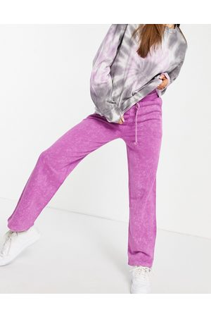 ASOS Straight leg jogger-Purple