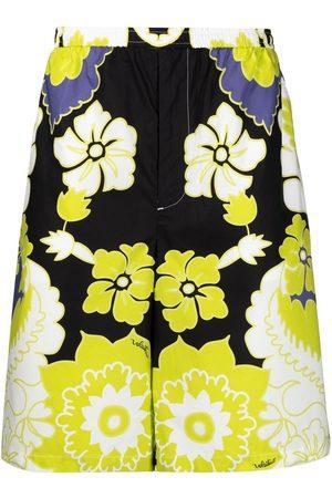VALENTINO Muži Bermudy - Arazzo-print bermuda shorts
