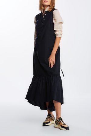 GANT Ženy Midi - Šaty D2. Sleeveless Midi Poplin Dress