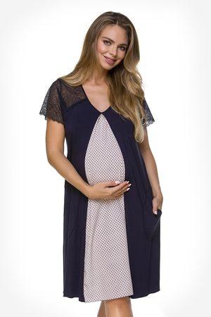 Lupoline Těhotenská košilka Lily Blue