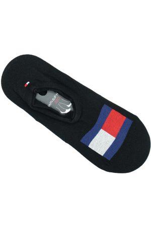 Tommy Hilfiger Muži Ponožky - Pánské černé ponožky 2 pack