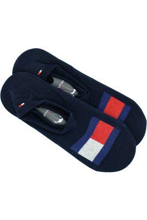 Tommy Hilfiger Muži Ponožky - Pánské tmavě modré ponožky 2 pack
