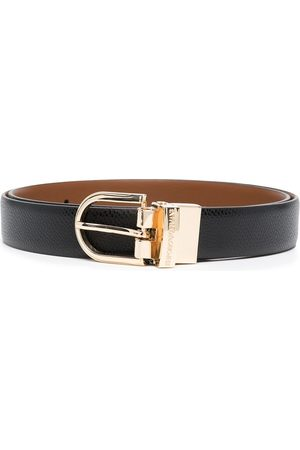 Emporio Armani Engraved logo belt