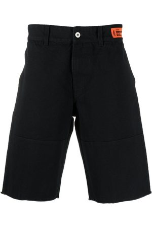 Heron Preston Muži Bermudy - Logo patch Bermuda shorts