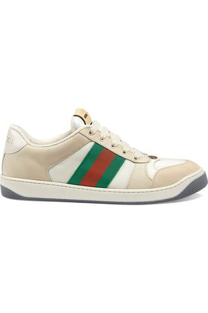 Gucci Screener leather low-top sneakers
