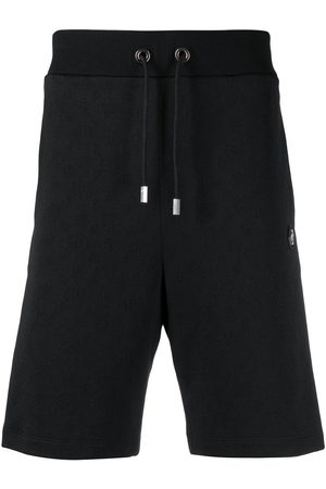 Philipp Plein Stripe-side track shorts