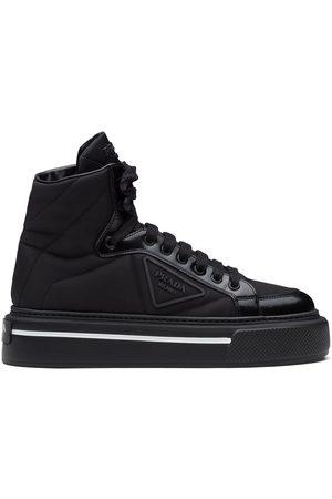 Prada Ženy Tenisky - High-top tonal panel sneakers