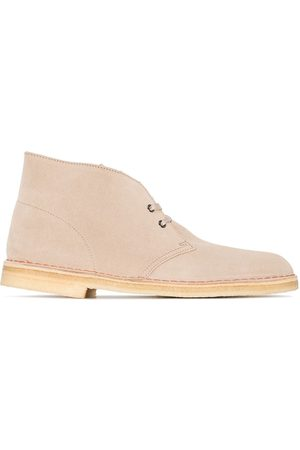 Clarks Suede ankle desert boots