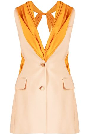 Nina Ricci Drape panel waistcoat