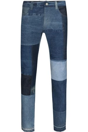 Children Of The Discordance Patchwork straight-leg jeans