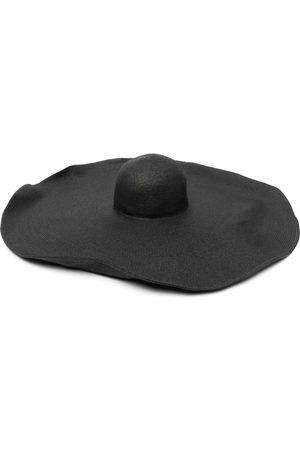 P.a.r.o.s.h. Ženy Klobouky - Woven-raffia sun hat