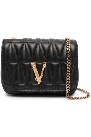 VERSACE Virtus quilted crossbody bag