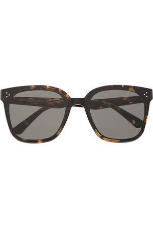 Gentle Monster Sluneční brýle - Tortoise-shell frame sunglasses