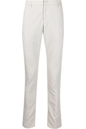 Dondup Muži Společenské - Tailored cotton pique trousers