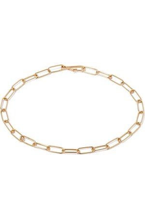 ANNOUSHKA Ženy Náramky - 14kt yellow gold mini cable link chain large bracelet