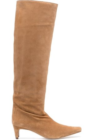 Staud Wally knee-high suede boots