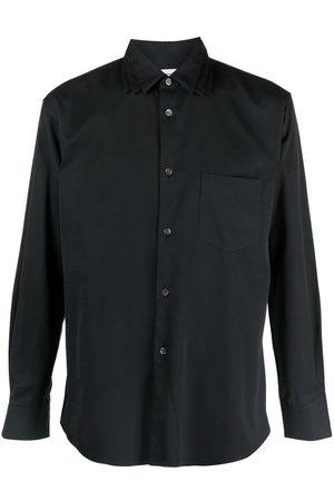 Comme des Garçons Muži S dlouhým rukávem - Notched-collar long-sleeved shirt