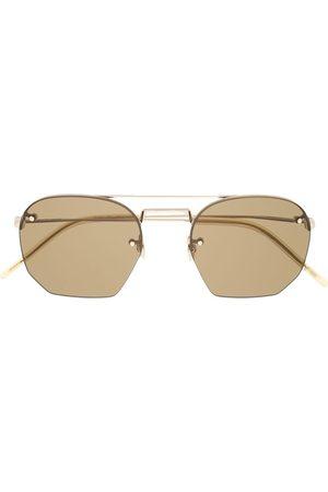 Saint Laurent Muži Sluneční brýle - Aviator-frame sunglasses