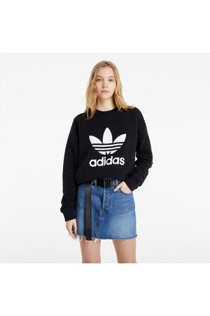 adidas Trefoil Sweatshirt Black/ White