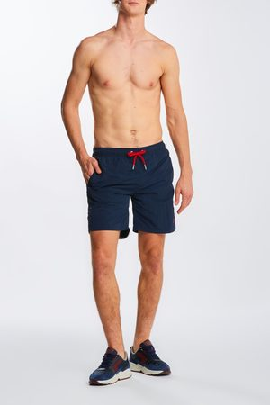 GANT Plavky Long Cut Swim Shorts