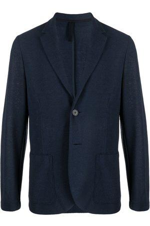 Harris Wharf London Single-breasted cotton-blend blazer