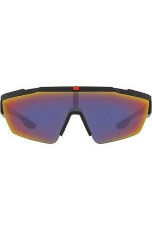 Prada Linea Rossa wraparound sunglasses