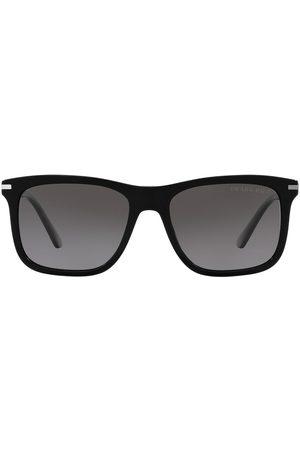 Prada Gradient rectangular-frame sunglasses