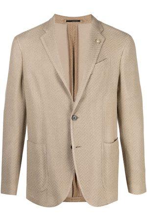 LARDINI Single-breasted blazer