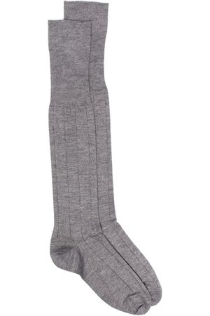 Marcoliani Knee-high knitted socks